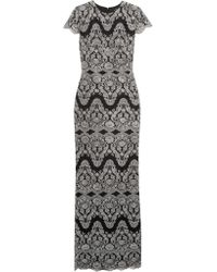 Catherine Deane | Black Godiva Embroidered Tulle Gown | Lyst