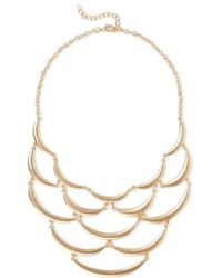 Kenneth Jay Lane | Metallic Gold-tone Necklace | Lyst