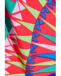 Mara Hoffman - Red Cutout Printed Swimsuit - Lyst
