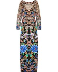 Temperley London | Multicolor Baudelaine Embroidered Tulle Gown | Lyst