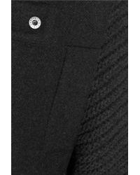 Chalayan - Black Wool-blend Felt Coat - Lyst