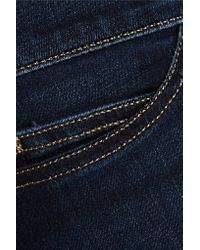 M.i.h Jeans Blue High-rise Skinny Jeans