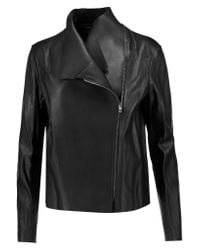 JOSEPH | Black Libra Leather Biker Jacket | Lyst