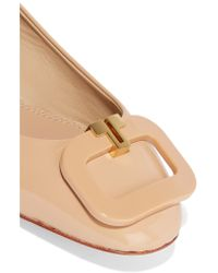 Tory Burch - Multicolor Patent-leather Ballet Flats - Lyst