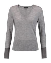 Rag & Bone | Gray Jessica Merino Wool Sweater | Lyst