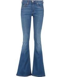Rag & Bone | Blue Bell Mid-rise Flared Jeans | Lyst