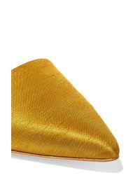 Sam Edelman - Multicolor Brandie Satin Point-toe Flats - Lyst