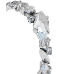 Alexis Bittar - Metallic Sterling Silver, Topaz And Sapphire Ring - Lyst