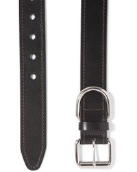 Acne Studios - Black Leather Belt - Lyst