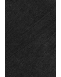 Majestic Filatures - Black Cotton-blend Jersey Leggings - Lyst