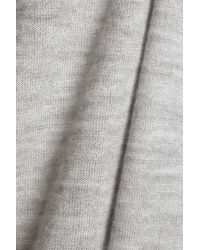 Duffy - Cashmere Top Light Gray - Lyst