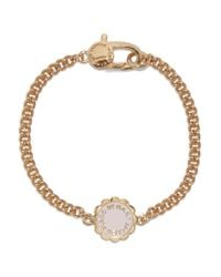 Marc By Marc Jacobs - White Gold-tone Enamel Bracelet - Lyst
