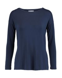 Velvet By Graham & Spencer | Blue Modal-blend Top | Lyst