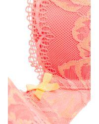 Heidi Klum Intimates - Pink Sabine Stretch-lace Contour Bra - Lyst