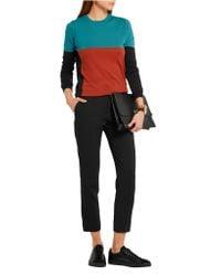 Bottega Veneta - Multicolor Color-block Merino Wool Sweater - Lyst