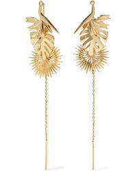 Noir Jewelry - Metallic Gold-tone Earrings - Lyst
