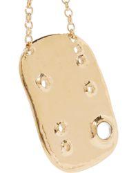 Aurelie Bidermann - Metallic Anita Gold-plated Necklace - Lyst