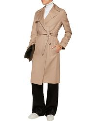 Helmut Lang - Natural Cotton-twill Trench Coat - Lyst