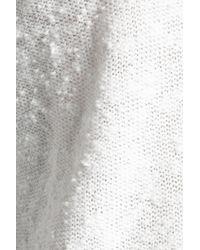 Joie - White Pointelle-knit Sweater - Lyst