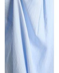 DKNY - Striped Voile Nightdress Sky Blue - Lyst