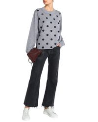 Marc Jacobs - Woman Knitted Sweater Gray - Lyst