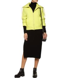 MM6 by Maison Martin Margiela - Multicolor Neon Honeycomb-knit Wool-blend Sweater - Lyst