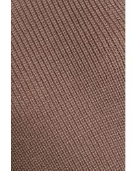 Day Birger et Mikkelsen - Multicolor Woman Wrap-effect Wool-blend Sweater Taupe - Lyst