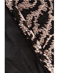 La Perla - Black Feline Chic Low-rise Embroidered Stretch-tulle Briefs - Lyst
