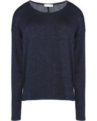 Rag & Bone - Blue Mélange Knitted Top - Lyst