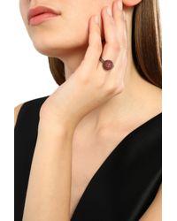 Carolina Bucci - Black Gunmetal-tone 18-karat Gold Crystal Earrings - Lyst