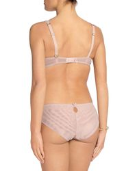 Mimi Holliday by Damaris - Low-rise Corded Lace And Jersey Briefs Pastel Pink - Lyst