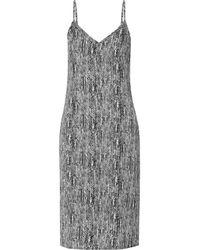 Splendid - Black Printed Voile Dress - Lyst