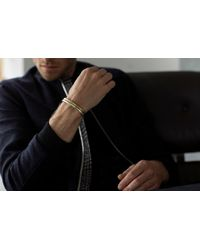 Alice Made This - Metallic Lapworth Silver Plated Bracelet for Men - Lyst