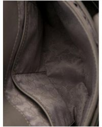 MICHAEL Michael Kors - Metallic Michael Kors Leather Hamilton Tote Grey - Lyst