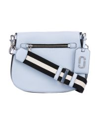 386f7b99033f Lyst - Marc Jacobs Gotham Saddle Bag Blue in Metallic