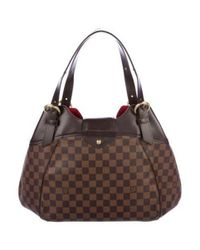 Louis Vuitton - Brown Damier Ebene Sistina Gm - Lyst