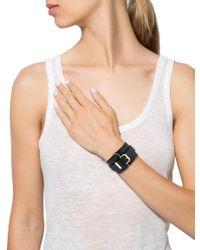 Louis Vuitton - Metallic Zippy Cuff Gold - Lyst