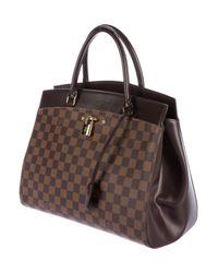 Louis Vuitton - Natural Damier Ebene Rivoli Mm Brown - Lyst
