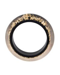 Louis Vuitton - Metallic Monogram Inclusion Bangle Gold - Lyst