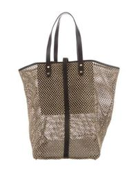 Creatures of Comfort - Natural Raffia Market Tote Tan - Lyst