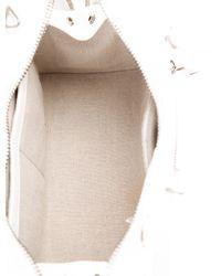 Proenza Schouler - Metallic Large Ps13 Satchel Silver - Lyst