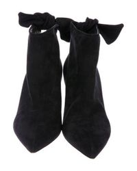 Dior - Black Suede Ankle Boots - Lyst