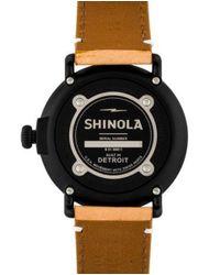 Shinola - Metallic The Runwell Watch - Lyst