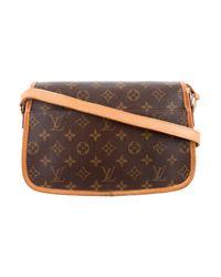 Louis Vuitton - Natural Monogram Sologne Bag Brown - Lyst