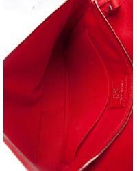 Louis Vuitton | Metallic Essential Cuir Boheme Bag Silver | Lyst