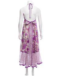 Marc Jacobs - Purple Printed Maxi Dress W/ Tags - Lyst