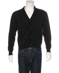 0cd9164bcd09 Lyst - Miu Miu Miu Shawl Lapel Cardigan in Black for Men