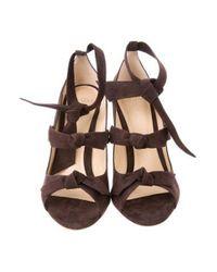 Alexandre Birman - Brown Charlotte High-heel Sandals W/ Tags - Lyst