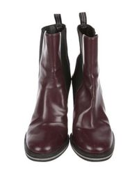 Stella McCartney - Natural Vegan Leather Booties Tan - Lyst