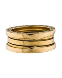 BVLGARI - Metallic B. Zero 1 Band Ring Yellow - Lyst